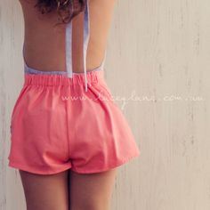 #Love the #low #back xx #laceylane #highwaisted #shorts #petal
