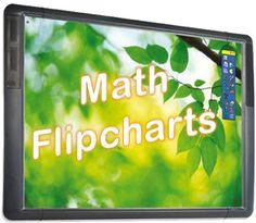 Download Math flipcharts for your #Promethean Board  http://activinspireadventures.wikispaces.com/Math+flipcharts smartboard