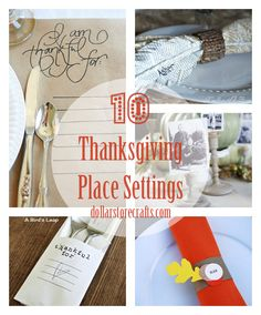10 DIY Thanksgiving