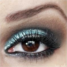 Maquiagem Sereia - Glitter  36 Acqua Dailus Color  - tudo make 01
