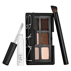 And God Created The Woman Part 2 - A limited-edition, eye shadow kit with six neutral, shimmering and matte shades, a Wide Contour Eye Shadow Brush, and a mini Pro-Prime™ Smudge Proof Eyeshadow Base. #Sephora #NARS