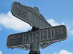 Hatfield  McCoy Streets, Matewan, WV