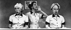 Lucy and Ethel at the chocolate factory