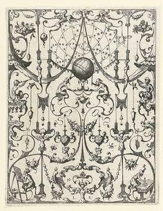 Sphere under a starry sky by Lucas Kilian (1607) c by peacay, via Flickr