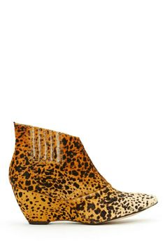 Matisse Nugent Ponyhair Ankle Boot