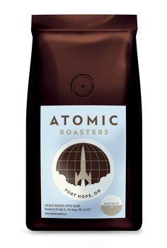 Atomic Coffee Roasters | #coffee #packaging