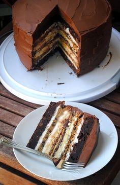 Ultimate S'More Cake