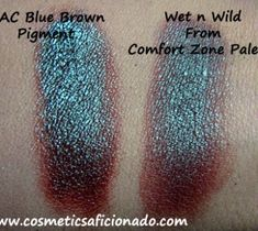 MAC Blue Brown Pigment Dupe