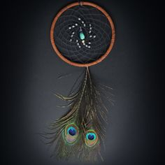 peacock dream catcher!