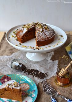 Honey Chai Tea Cake. Would be a nice treat for someone special.