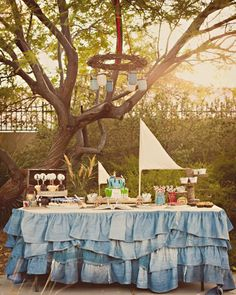 Adventures of Tom Sawyer 1st Birthday Party with Lots of Really Cute Ideas via Kara's Party Ideas | KarasPartyIdeas.com #TomSawyerParty #Tom...