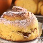 Sloppy Slow Cooker Pumpkin Pie Cinnamon Rolls