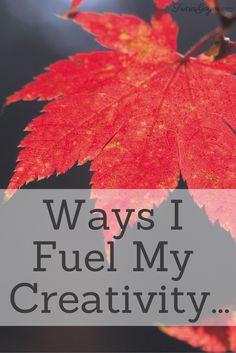 Ways I Fuel My Creativity - TriciaGoyer.com