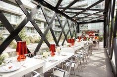Scarpetta dining pavilion by gh3, Toronto