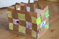 Easy Paper Bag Weaving - Re-pinned by @PediaStaff – Please Visit http://ht.ly/63sNt for all our pediatric therapy pins