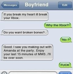Funny Text Messages Bf/Gf | ... Funny Pictures, Epic Fail, Epic, iPhone Autocorrect, Iphone Text Laughing, Illness Breaking, Funny Quotes, Jokes Enjoy, Things, Boyfriends Texts Fail, Funny Texts Messages, Xbox, Moments Together