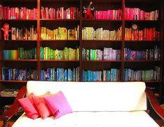 Rainbow books!