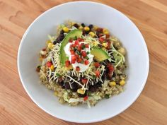 Quinoa Black Bean Burrito Bowls - I could eat this fr dinner every day, I think @Alli Rense Sessums could too