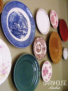 ANTIQUE DISHES for the kitchen