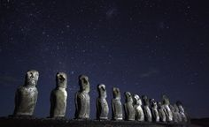 Rapa Nui [Easter Island]. (From: 40 Islands You'd Love To Be Stranded On)