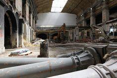St Lazare station, renovation - 2010