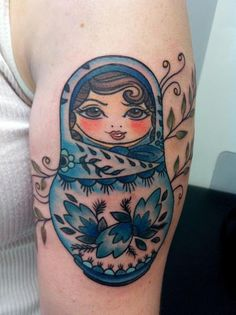 another way we could do the nesting dolls/sister tattoo get them drawn in our likeness