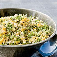Quinoa, Corn, and Mint Salad
