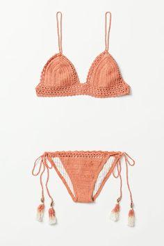 Crochet bikinis.
