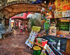 HDR of American Village in Okinawa, Japan. #okinawa #japan