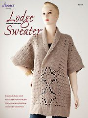 Lodge Sweater crochet pattern from AnniesCatalog.com. Order here (download & print): http://www.anniescatalog.com/detail.html?prod_id=103443