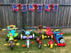 Disney Cars Birthday Party on a Budget