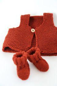 les tricots de Granny: mini gilet de berger Free parterna in French