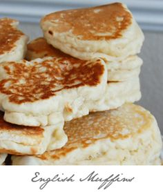 The Prudent Homemaker: english muffins and lots of other homemade bread recipes