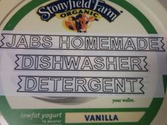 dish detergent- works wonderfully