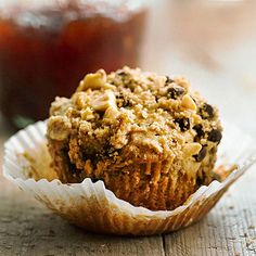 Try this Peanut Butter Streusel Muffin recipe for your next breakfast! They are gooey and delicious: http://www.bhg.com/recipes/bread/muffin-recipes/?socsrc=bhgpin022014peanutbutterstreuselmuffins&page=11