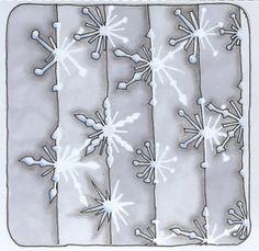 Snowflakes - 2 - coloured