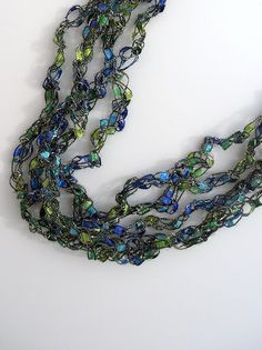 Trellis Necklace Tutorial