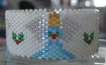 Angel Tea Light Cover by Diane Masters AKA Phoenix Wolf Creations