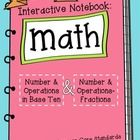 Thank you so much for your interest in my 3rd Grade Interactive Math Notebook, based on the Common Core Standards. I love using the 4th grade versi... math notebooks, interact notebook, interactive notebooks