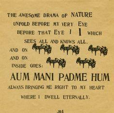 Be Here Now, Ram Dass    via http://nineeyedoracle.tumblr.com/post/40970906450#