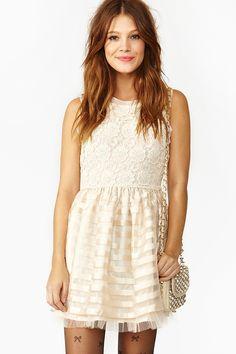 Crochet Stripe Dress