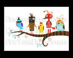 Birds Cross Stitch Pattern Cross Stitch by NewYorkNeedleworks, $8.50
