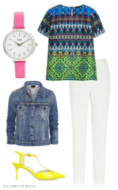 Perfect outfit for date night or girls night out! #neon #womensclothing