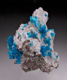 Cavansite with Stilbite from Wagholi, Pune District, Maharashtra, India