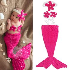 Mermaid Crochet... I HAVE to make this for Everleigh!!!:)