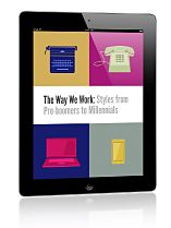 The Way We Work: Office Styles from Pre-Boomers to Millennials from MindJet