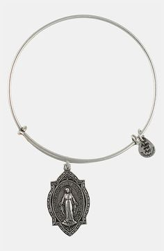 Alex and Ani 'Mother Mary' Wire Bangle | Nordstrom