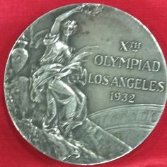 "Glen ""Slats"" Hardin's Silver Medal from the 1932 Los Angeles Olympics."