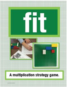 #FreebieFriday ~ #FREE Fit: A Multiplication Strategy Game Using Arrays #TPT