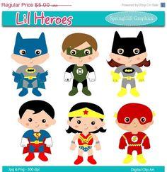 Superhero clip art 3.50